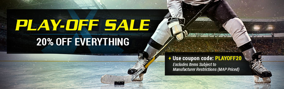 Playoff hockey equipment sale