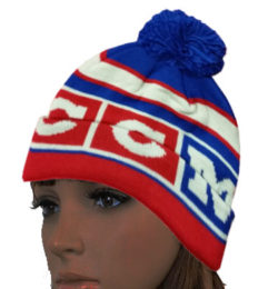CCM Hockey Hat - Winter Classic Pom Knit Cap
