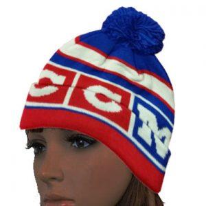 CCM Hockey Hat - Winter Classic Pom Knit Cap
