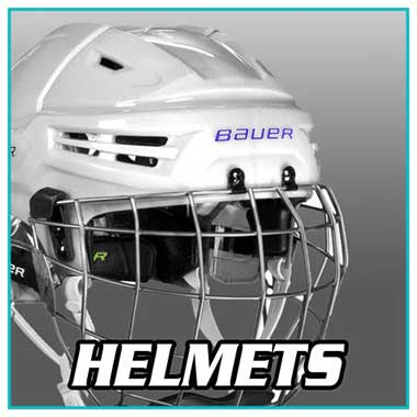 Hockey Equipment - Hockey Helmets - Professional Hockey Helmets - Bauer, CCM, Warrior, Graf, Reebok, Easton