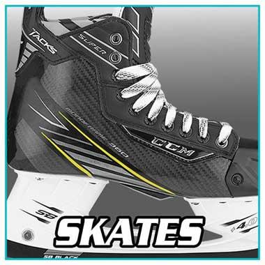 Hockey Equipment - Hockey Ice Skates - Bauer, CCM, Warrior, Graf, Reebok, Easton