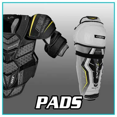 Hockey Equipment - Hockey Shoulder Pads - Bauer, CCM, Warrior, Graf, Reebok, Easton