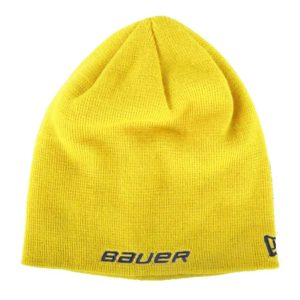 Bauer Logo Knit Hat New Era Yellow