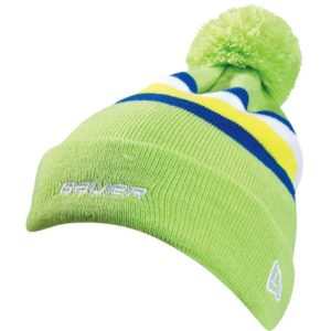 Bauer Repeat Pom Knit Hat - Youth