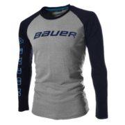 Bauer Long Sleeve Training 2-Tone Shirt