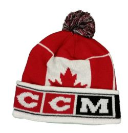 CCM Hockey Pom Knit Cap - Team Canada