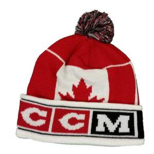CCM Hockey Pom Knit Cap - Team Canada