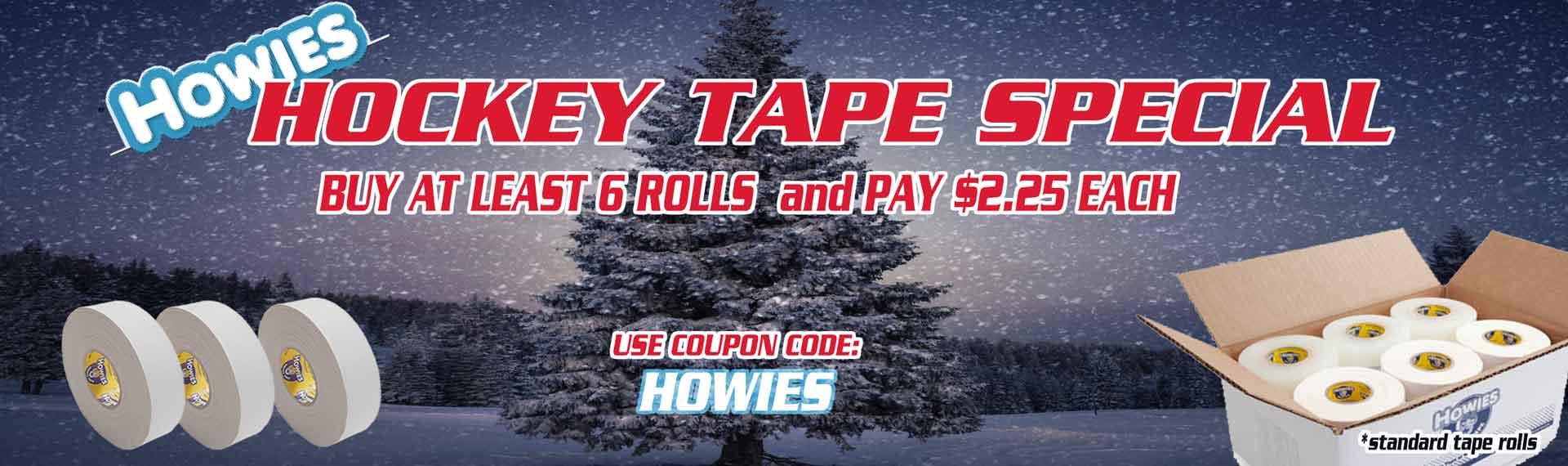 Hockey Plus Ice hockey tape howies coupon code
