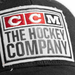 CCM Hockey Crawford Classic Trucker Hat - Black