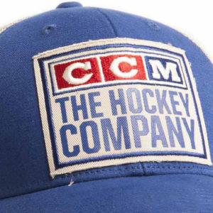 CCM Hockey Crawford Classic Trucker Hat - Blue