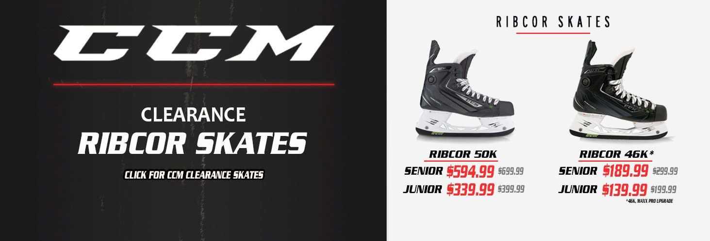 CCM Ice Hockey Skates Ribcor Clearance