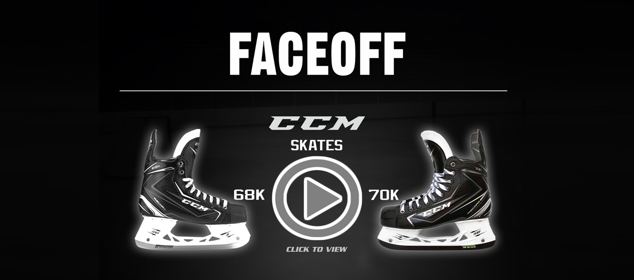 CCM RibCor 70K and 68K Ice Hockey Skates