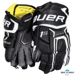 Bauer Supreme 1s Senior Ice Hockey Gloves - '17 Model