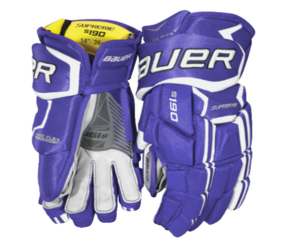 Bauer Supreme s190 Senior Ice Hockey Gloves - '17 Model