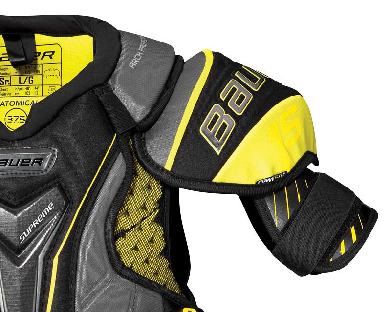 Bauer Supreme 1s Junior Shoulder Pads - '17 Model