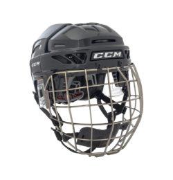 CCM FitLite 3DS Senior Helmet Combo Front