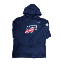 USA Hockey Nike Therma Pullover Performance Hoodie (Navy)