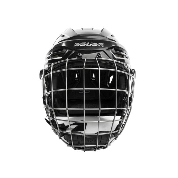 Bauer Re-Akt 95 Hockey Helmet Combo Front