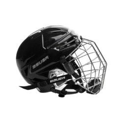 Bauer Re-Akt 95 Hockey Helmet Combo Side