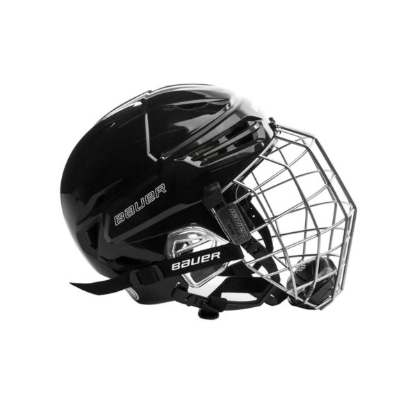 Bauer Re-Akt 95 Hockey Helmet Combo Side