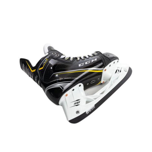 CCM Super Tacks AS1 Senior Ice Hockey Skates Bottom