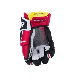 Bauer Supreme Ignite Pro Junior Hockey Gloves Back
